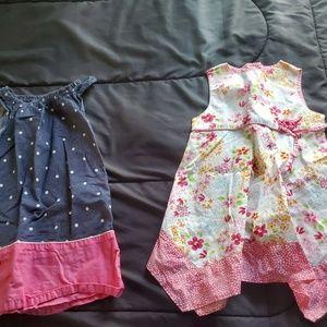 girls 24 months summer dresses